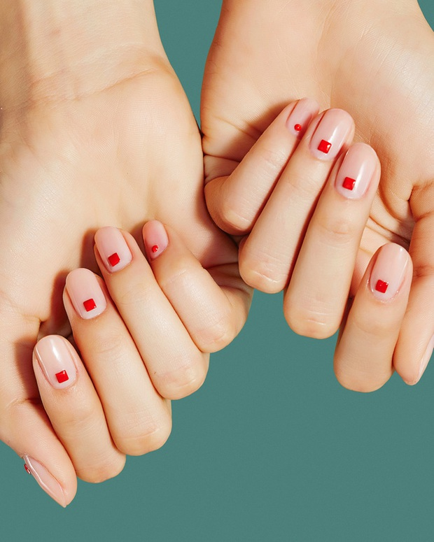 Gợi ý 14 bộ nail xinh hết cỡ cho dịp Valentine các nàng nên lưu lại để triển dần - Ảnh 2.