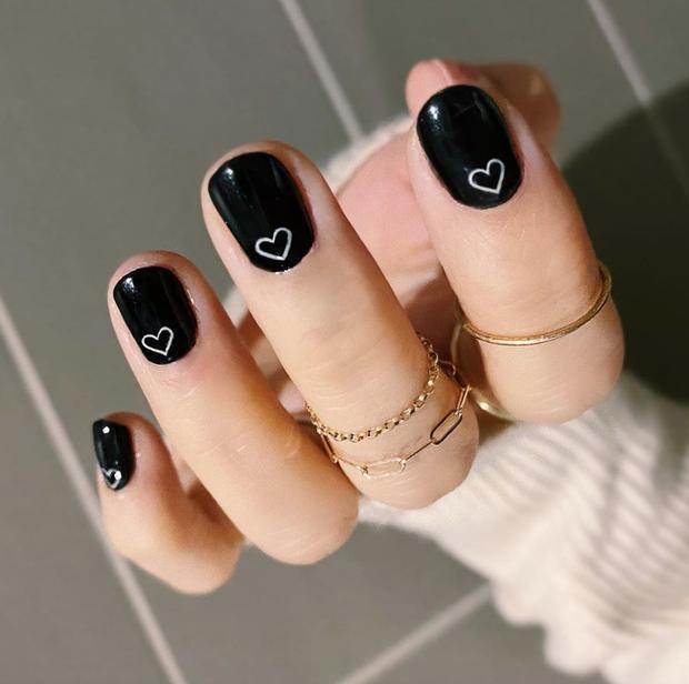 Gợi ý 14 bộ nail xinh hết cỡ cho dịp Valentine các nàng nên lưu lại để triển dần - Ảnh 13.