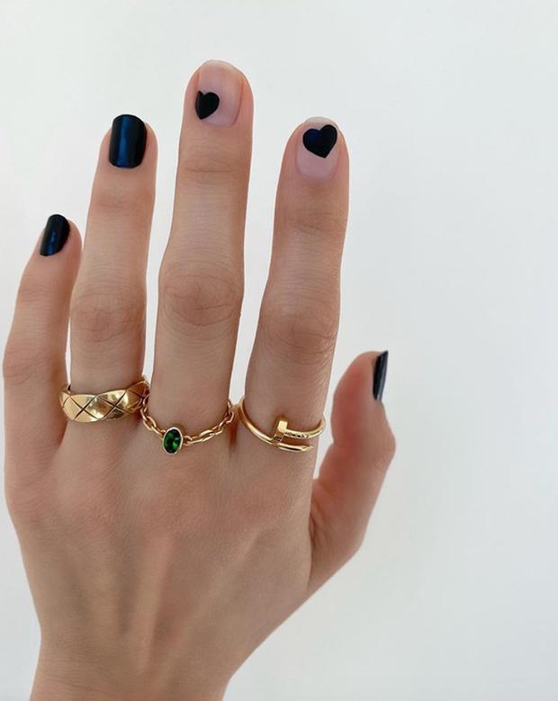 Gợi ý 14 bộ nail xinh hết cỡ cho dịp Valentine các nàng nên lưu lại để triển dần - Ảnh 6.