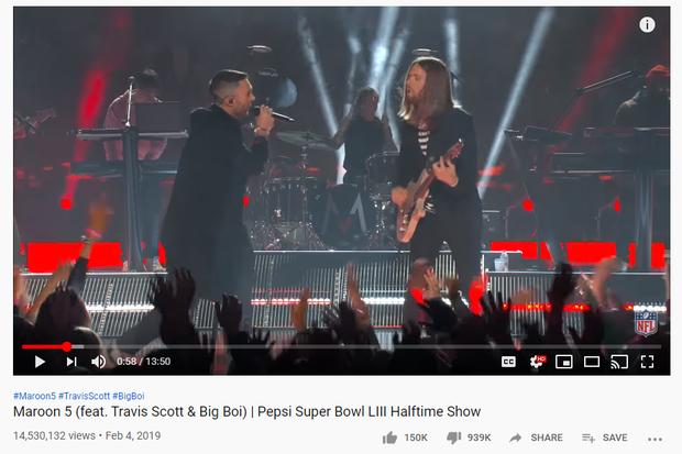 Sân khấu Super Bowl của Shakira và Jennifer Lopez đã vượt 100 triệu view sau 4 ngày, vượt xa Lady Gaga, Beyoncé hay Justin Timberlake... - Ảnh 3.