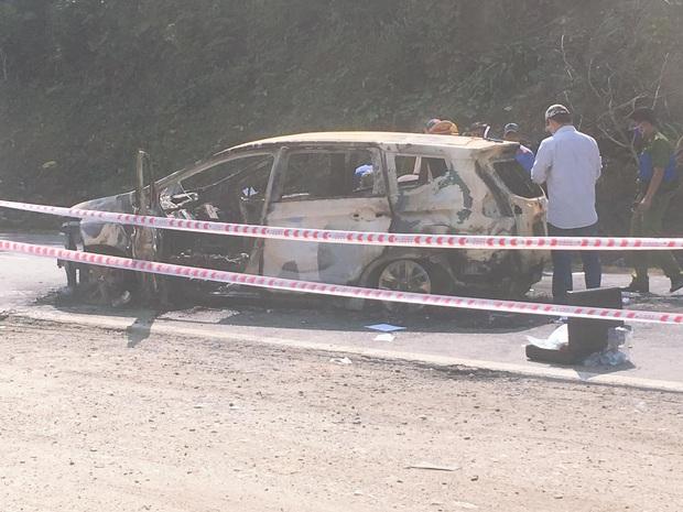 Giám định ADN xác định danh tính 2 người chết trong ôtô cháy ở Quảng Nam - Ảnh 2.