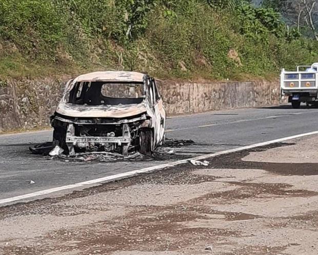 Giám định ADN xác định danh tính 2 người chết trong ôtô cháy ở Quảng Nam - Ảnh 1.
