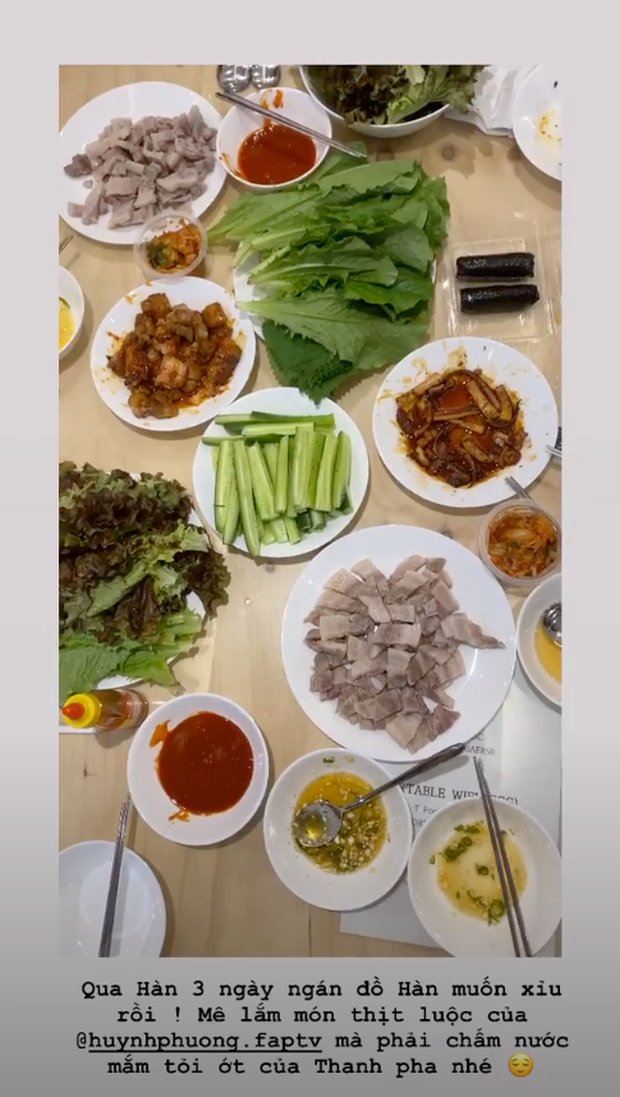 Huỳnh Phương chiều bạn gái đến nghiện: Sang tận Hàn vẫn đích thân vào bếp nấu món Việt cho Sĩ Thanh ăn đỡ ngán - Ảnh 2.