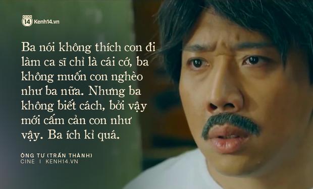 13 câu thoại thấm thía ở web drama Bố Già của Trấn Thành: Trên đời này không có chuyện gì thiếu tiền mà vui hết! - Ảnh 11.