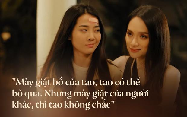 Hương Giang lại thở ra 2 câu quote chuẩn đét trong #ADODDA 4, netizen chia sẻ nhiệt tình kèm hình ảnh cái nắm tay thân mật của 2 chị gái - Ảnh 2.