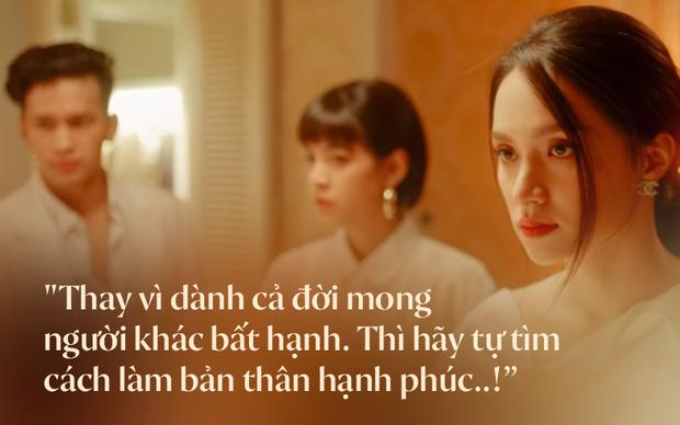 Hương Giang lại thở ra 2 câu quote chuẩn đét trong #ADODDA 4, netizen chia sẻ nhiệt tình kèm hình ảnh cái nắm tay thân mật của 2 chị gái - Ảnh 3.