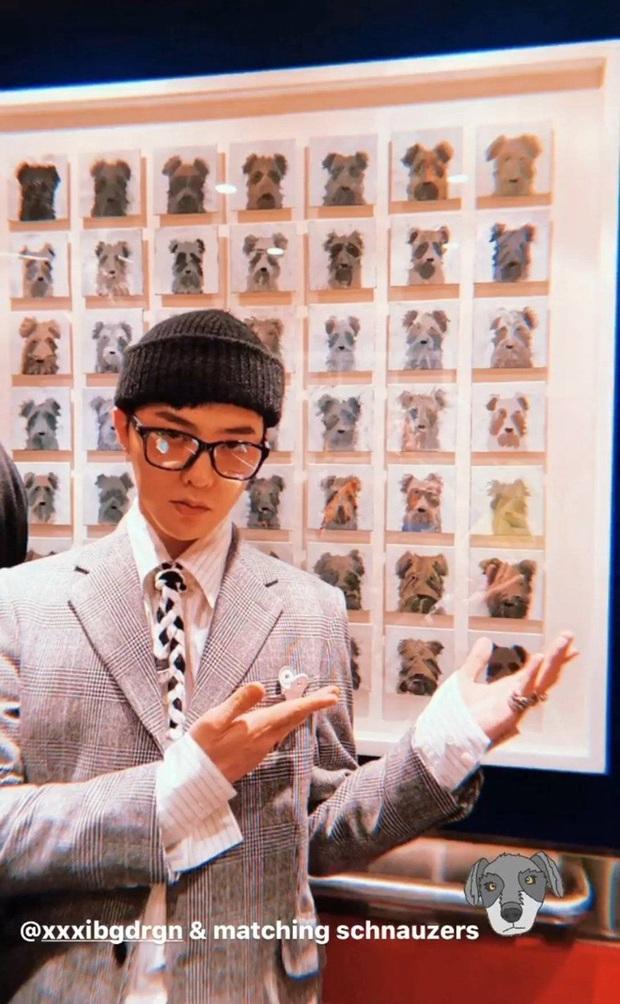 G-Dragon lộ da sần sùi lấm tấm mụn nhưng vẫn ghi điểm với style chất khỏi bàn khi lấy dây giày làm cà vạt - Ảnh 3.
