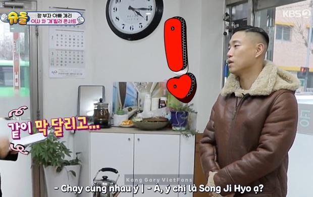 Fan Monday Couple sướng rơn khi lần đầu tiên sau 3 năm, Kang Gary gọi tên Song Ji Hyo trên show thực tế! - Ảnh 4.