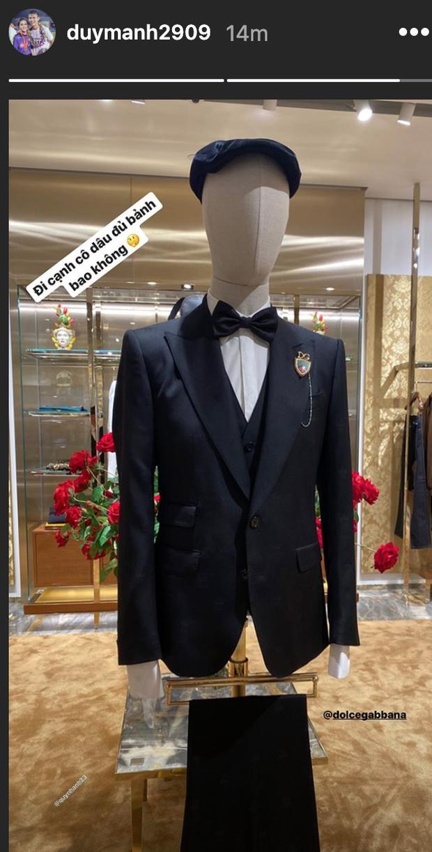 Quỳnh Anh hé lộ chiếc váy cưới đẹp nhất đời, khiến Duy Mạnh mê mẩn ngắm nhìn - Ảnh 4.
