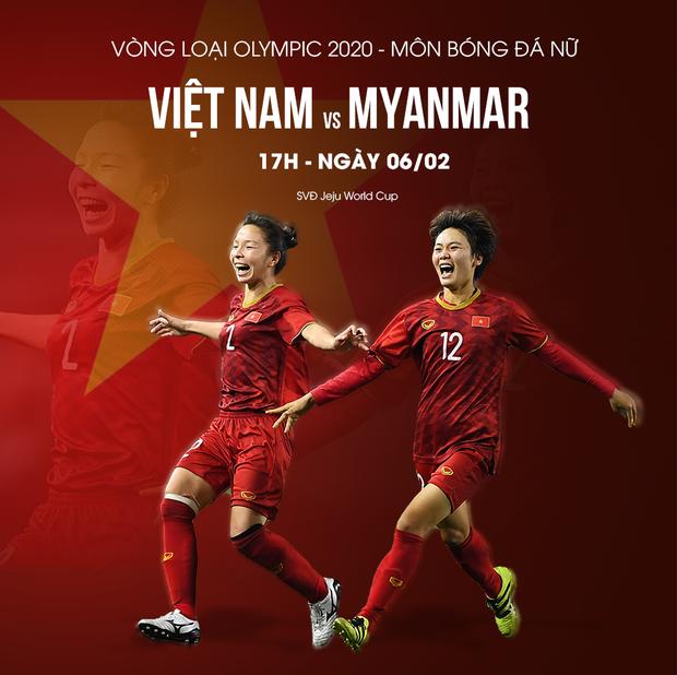 Cứ cho là thắng Myanmar, thử thách nào đang chờ tuyển nữ Việt Nam trên con đường làm nên lịch sử tới Olympic 2020? - Ảnh 2.