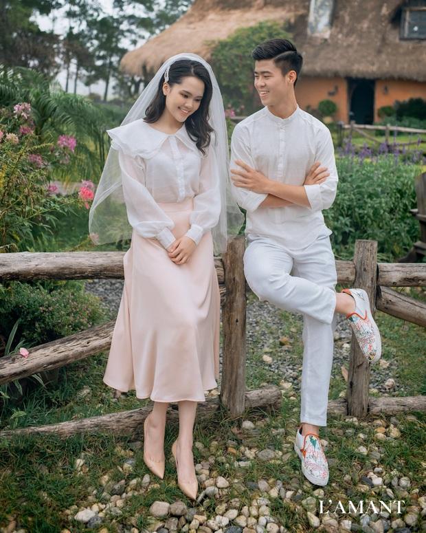 Đám cưới Duy Mạnh - Quỳnh Anh được trang hoàng bởi 500.000 viên pha lê, ảnh cưới theo bộ phim đình đám Hàn Quốc Hạ cánh nơi anh - Ảnh 8.