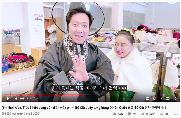 """Sao Việt chăm chỉ làm vlog du lịch nhất gọi tên Trấn Thành - Hari: trong cùng 1 ngày ở Hàn Quốc, cùng 1 bộ trang phục mà """"đẻ"""" ra tận 6 video! - Ảnh 6."""
