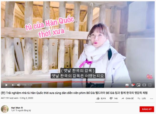 """Sao Việt chăm chỉ làm vlog du lịch nhất gọi tên Trấn Thành - Hari: trong cùng 1 ngày ở Hàn Quốc, cùng 1 bộ trang phục mà """"đẻ"""" ra tận 6 video! - Ảnh 8."""