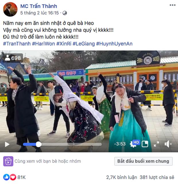 """Sao Việt chăm chỉ làm vlog du lịch nhất gọi tên Trấn Thành - Hari: trong cùng 1 ngày ở Hàn Quốc, cùng 1 bộ trang phục mà """"đẻ"""" ra tận 6 video! - Ảnh 11."""