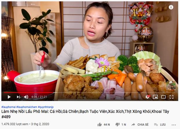 Màn tái xuất của Quỳnh Trần JP sau 3 ngày biến mất khỏi Youtube: toàn vlog triệu views với nội dung khủng, nhưng cũng có video fail nặng nề - Ảnh 4.