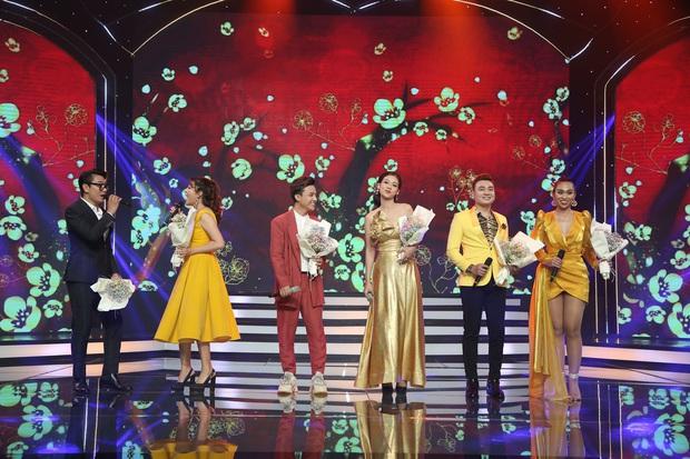 Thái Châu, Nguyên Vũ, Nam Cường... và hơn 30 nghệ sĩ đo nhiệt độ, rửa tay trong họp báo gameshow mới - Ảnh 9.