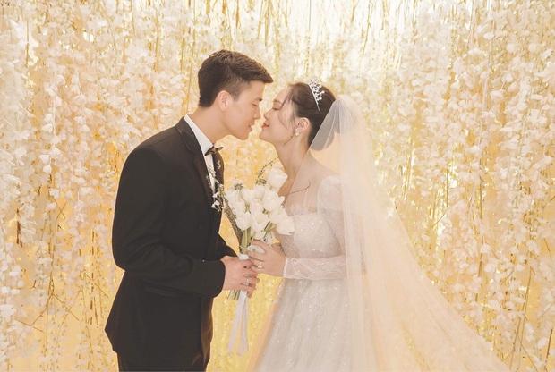 Duy Mạnh và Quỳnh Anh tung thêm bộ ảnh cưới ngọt ngào, lần này thì cách makeup của cô dâu xứng đáng 10 điểm! - Ảnh 2.