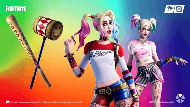 Birds of Prey vừa ra mắt, Fortnite tung ngay trang phục Harley Quinn chào đón bom tấn điện ảnh đầu năm 2020 - Ảnh 2.