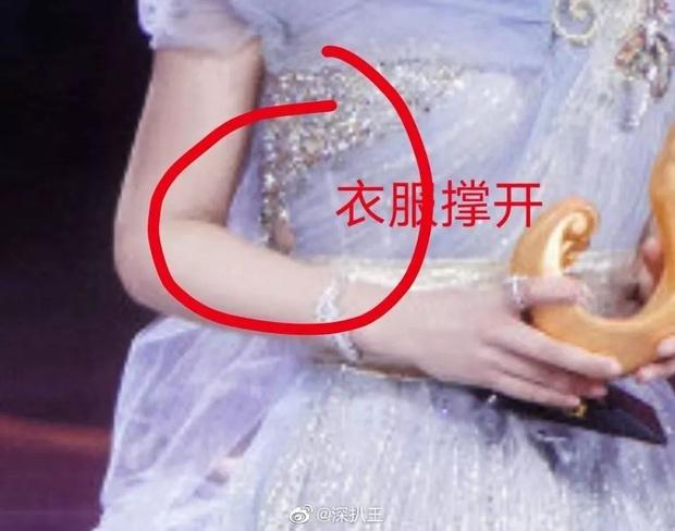 Bị soi hàng rởm, Dương Tử còn lộ khoảnh khắc tăng cân ních chặt váy áo, so sánh với người khác thấy rõ sự khác biệt - Ảnh 5.