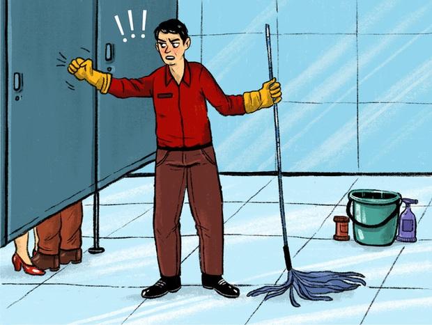 9 lý do để cửa toilet công cộng lúc nào cũng có kẽ hở lớn, dù giận tím người nhưng nghe xong ai cũng công nhận cực kỳ thuyết phục - Ảnh 4.