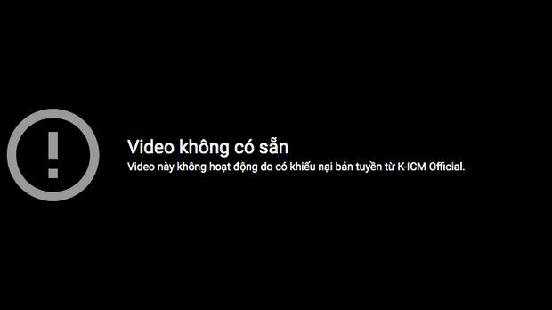 Khẳng định vẫn nắm quyền sở hữu nhưng video Jack hát live Sóng Gió tiếp tục bị gỡ bỏ vì khiếu nại bản quyền từ công ty ICM - Ảnh 5.