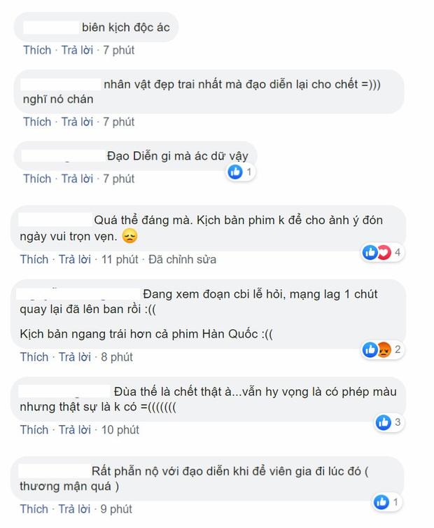 Chú rể bỏ mạng ngay trong đám hỏi, Cô Gái Nhà Người Ta khiến netizen phẫn nộ vì kịch bản quá tàn nhẫn - Ảnh 8.