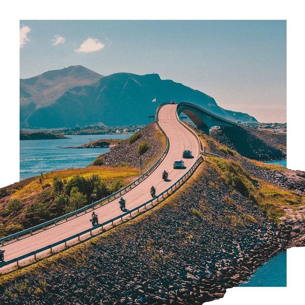 """Chiêm ngưỡng cung đường vượt biển """"huyền thoại"""" đẹp nhất hành tinh ở Na Uy, ước mơ trong đời của biết bao phượt thủ thế giới - Ảnh 14."""