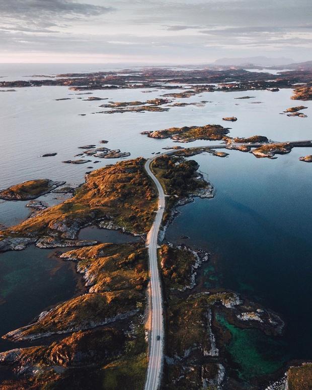 """Chiêm ngưỡng cung đường vượt biển """"huyền thoại"""" đẹp nhất hành tinh ở Na Uy, ước mơ trong đời của biết bao phượt thủ thế giới - Ảnh 20."""