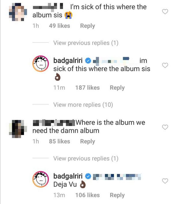 Fan thiết tha hỏi về album mới, Rihanna cũng tha thiết trả lời xong khiến hàng triệu người tuột mood không phanh - Ảnh 2.