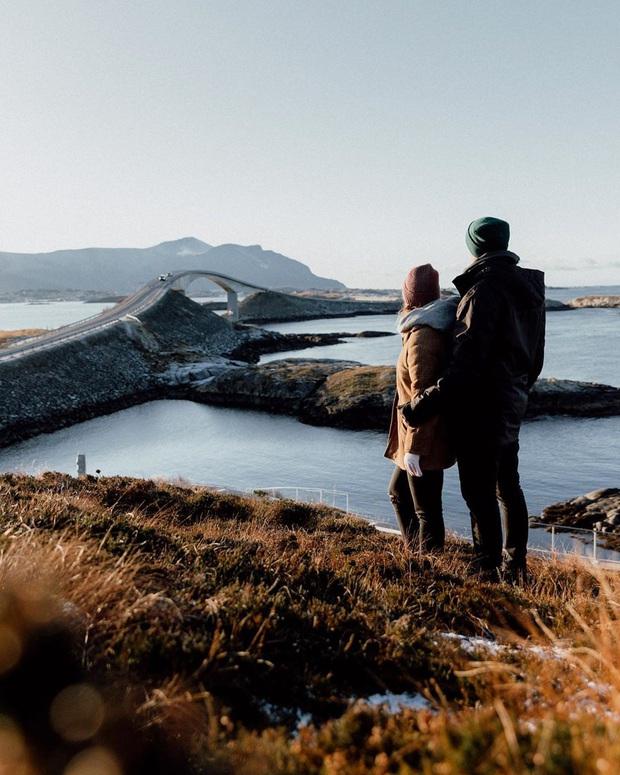 """Chiêm ngưỡng cung đường vượt biển """"huyền thoại"""" đẹp nhất hành tinh ở Na Uy, ước mơ trong đời của biết bao phượt thủ thế giới - Ảnh 8."""