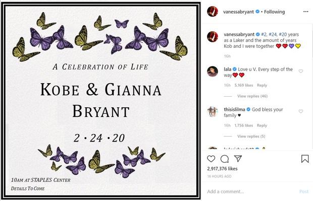 Công bố chính thức về lễ tưởng niệm huyền thoại Kobe Bryant sau vụ tai nạn chấn động: Rùng mình ý nghĩa ngày tổ chức lễ - Ảnh 1.
