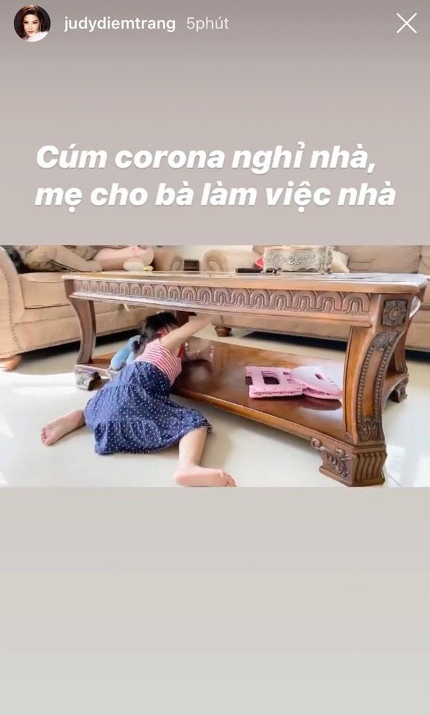 Mẹ bỉm sữa Vbiz ở nhà chăm con vì virus Corona: Lan Khuê phải kiềm chế hôn quý tử, Hà Tăng tranh thủ làm gì khi ở bên nếp lẫn tẻ? - Ảnh 3.