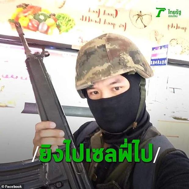 Những hình ảnh đầu tiên về vụ xả súng kinh hoàng tại Thái Lan - Ảnh 2.