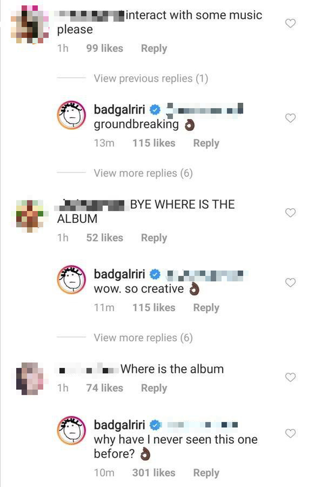 Fan thiết tha hỏi về album mới, Rihanna cũng tha thiết trả lời xong khiến hàng triệu người tuột mood không phanh - Ảnh 3.