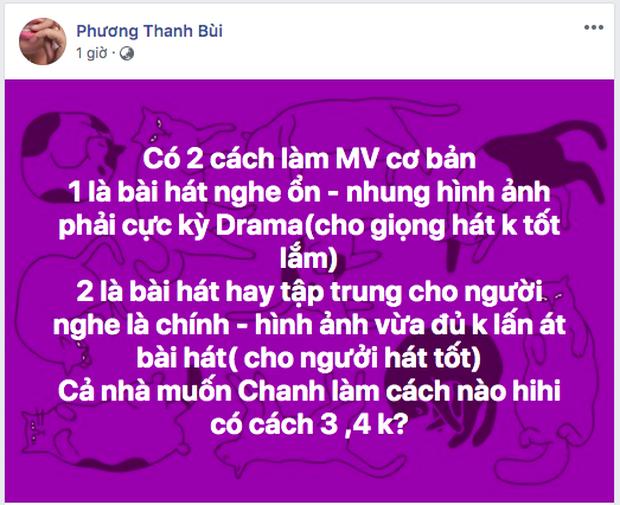 Phương Thanh gây chú ý khi nhận xét MV drama giúp ích những giọng hát không tốt lắm, bây giờ khán giả không nghe hát, họ thích nhìn hình tạo drama - Ảnh 1.