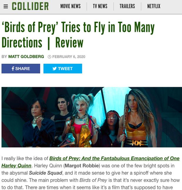 Vừa ra rạp đã bị giới phê bình ném đá tơi bời, Birds Of Prey được ví von như một bầy chim bay loạn xạ? - Ảnh 4.