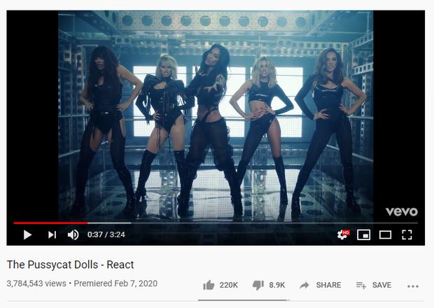 The Pussycat Dolls tái xuất, tưởng sẽ gây chấn động thế giới nhưng view thậm chí thua cả MV Hương Giang ra cùng thời điểm!  - Ảnh 1.