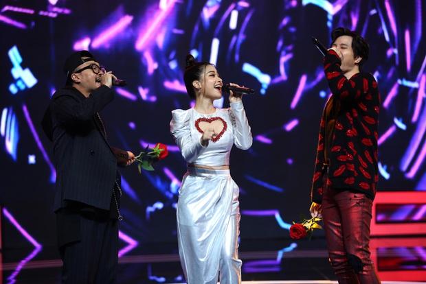 Trời sinh một cặp: Á hậu Kiều Loan vừa hát vừa rap khiến Trịnh Thăng Bình mê mẩn - Ảnh 2.