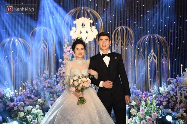Loạt khoảnh khắc đẹp nức nở trong đám cưới Quỳnh Anh - Duy Mạnh: Cổ tích của công chúa và hoàng tử thật rồi! - Ảnh 14.