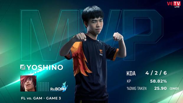 GAM Esports nhận thất bại đầu tiên bởi chính con quái vật do mình tạo nên, Yoshino có ngay MVP sau chiến thắng 2-1 của Team Flash - Ảnh 2.