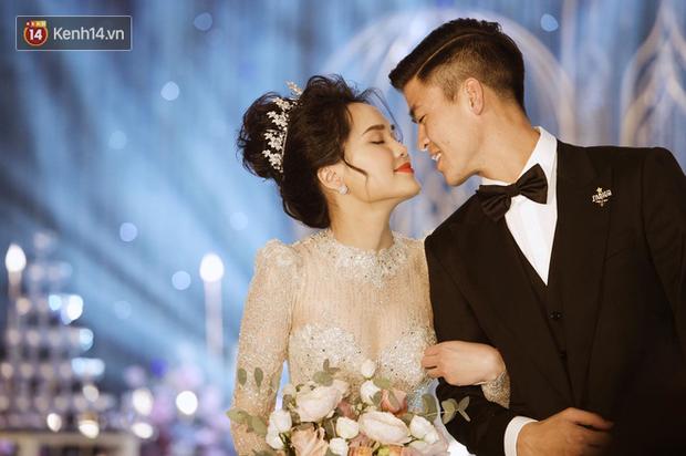 Loạt khoảnh khắc đẹp nức nở trong đám cưới Quỳnh Anh - Duy Mạnh: Cổ tích của công chúa và hoàng tử thật rồi! - Ảnh 8.