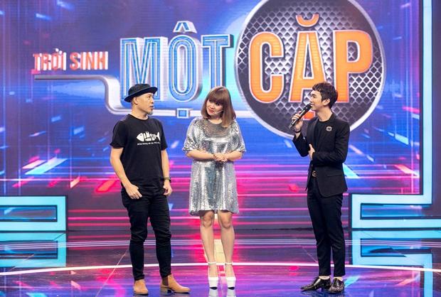 Trời sinh một cặp: Á hậu Kiều Loan vừa hát vừa rap khiến Trịnh Thăng Bình mê mẩn - Ảnh 1.