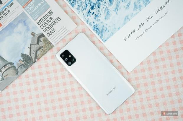 Đánh giá nhanh Galaxy A71: Chiếc smartphone tầm trung sẽ làm bạn hài lòng, kể cả những ai khó tính - Ảnh 3.