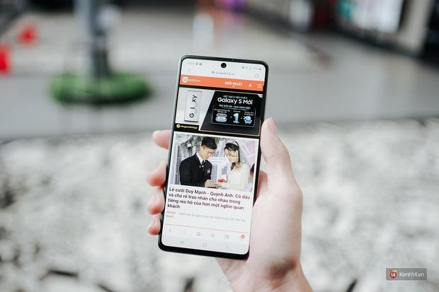 Đánh giá nhanh Galaxy A71: Chiếc smartphone tầm trung sẽ làm bạn hài lòng, kể cả những ai khó tính - Ảnh 6.