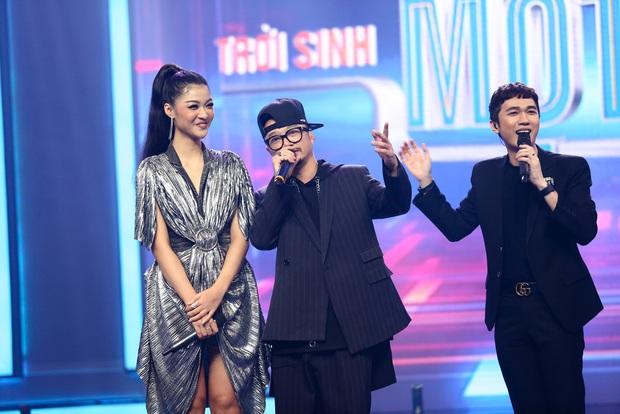 Trời sinh một cặp: Á hậu Kiều Loan vừa hát vừa rap khiến Trịnh Thăng Bình mê mẩn - Ảnh 4.