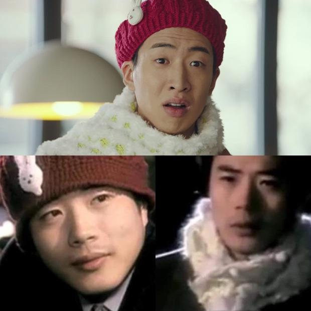 Em trai Bắc Hàn của Son Ye Jin cosplay hẳn idol đời đầu để gặp chị đẹp Choi Ji Woo ở Crash Landing On You tập 13 - Ảnh 3.