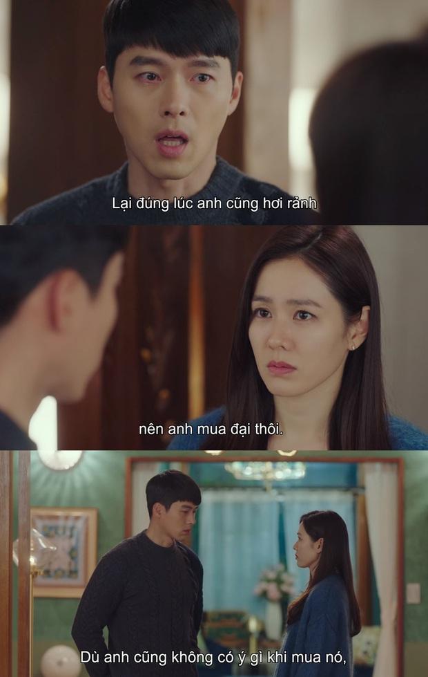 Tặng quà bồ mà bẽn lẽn như trai mới lớn, Hyun Bin khiến Son Ye Jin ham hố đeo nhầm nhẫn ở Crash Landing On You tập 13 - Ảnh 2.