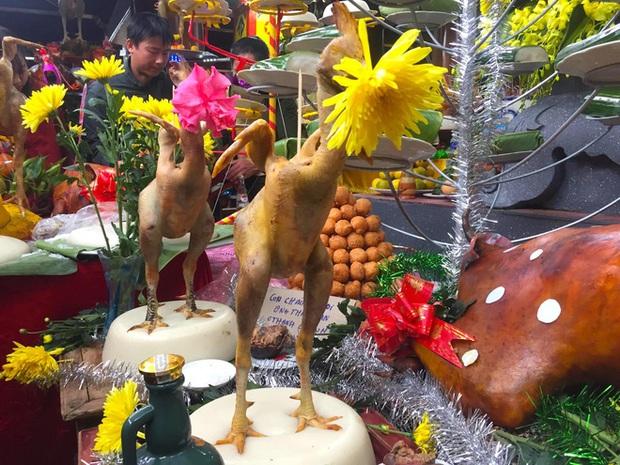 Ngắm những thế gà múa trên mâm cỗ ngày rằm tháng giêng ở Hà Tĩnh - Ảnh 12.