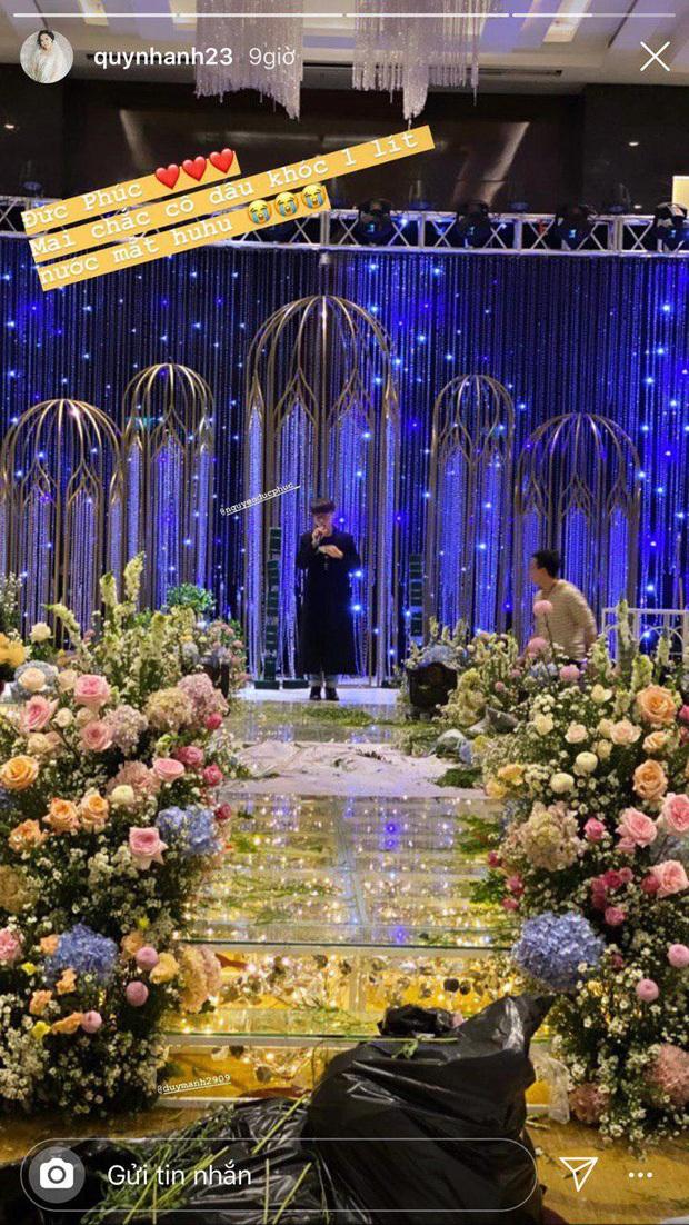 Đức Phúc khoe luôn hit sắp ra mắt MV Hơn Cả Yêu ngay tại tại lễ cưới Duy Mạnh - Quỳnh Anh bằng bản live ngọt lừ đốn tim bao người! - Ảnh 5.