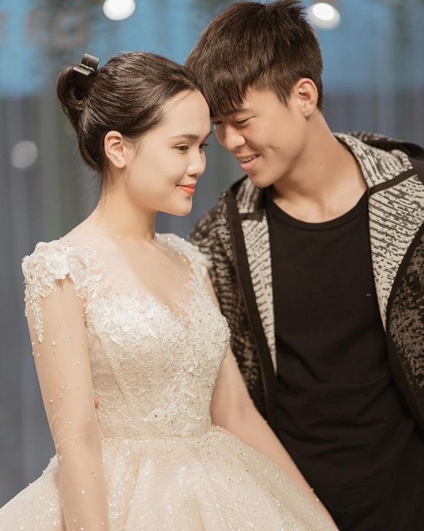 Sau pha makeup lỗi trong đám hỏi, lần này cô dâu Quỳnh Anh đã lấy lại phong độ, họa mặt xinh tươi chuẩn công chúa rồi! - Ảnh 8.
